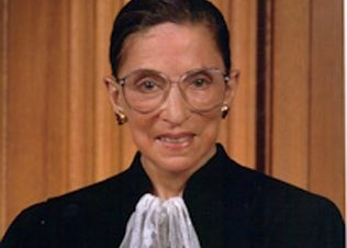 Inductee, Ruth Bader Ginsburg, Published in New York Times