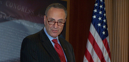 Senator Schumer Press Conference at the Hall