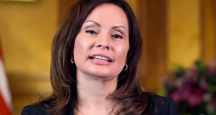 U.S. Treasurer Rosie Rios Holds  Town Hall Meeting on $10 Bill