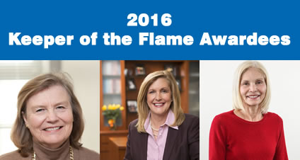 Three Prominent Rochester Women to be awarded the Keeper of the Flame Tribute by the National Women's Hall of Fame